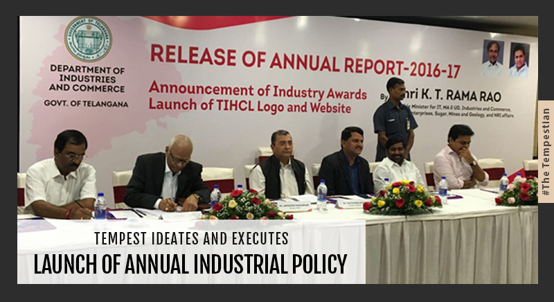 Tempest Ideates And Executes Launch Of Annual Industrial Policy